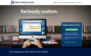 SmallGroup.com offers customizable studies for churches