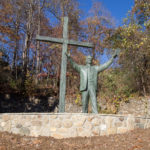 Billy Graham statue finds new home at Ridgecrest